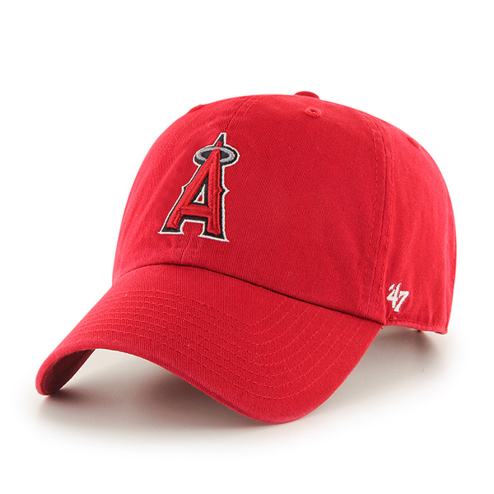 画像1: '47 BRAND LOS ANGELES ANGELS CLEAN UP CAP (1)