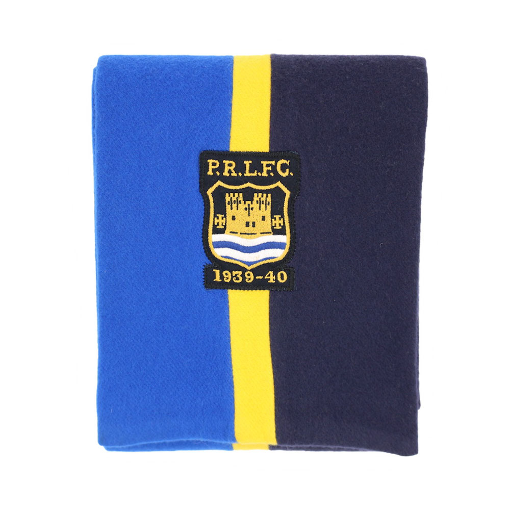 画像1: POLO RALPH LAUREN WOOL SCHOOL MUFFLER (1)