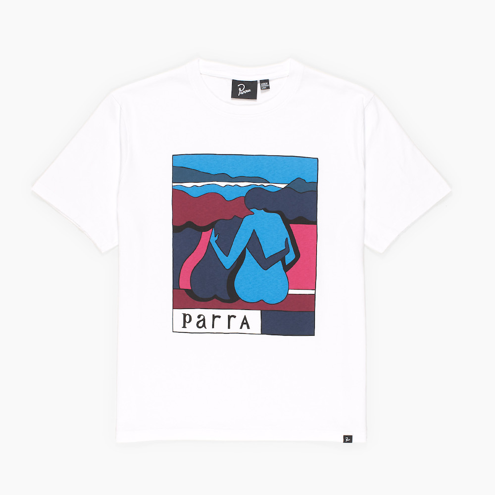 画像1: BY PARRA THE RIVERBENCH T-SHIRT (1)