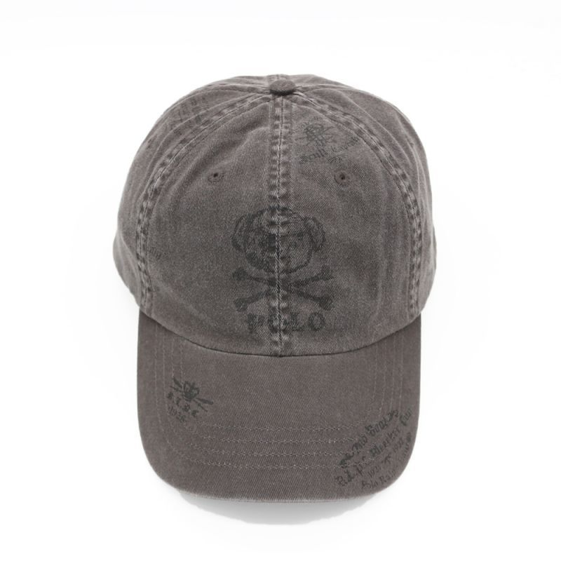 画像1: POLO RALPH LAUREN CROSSBONE BEAR BASEBALL CAP (1)