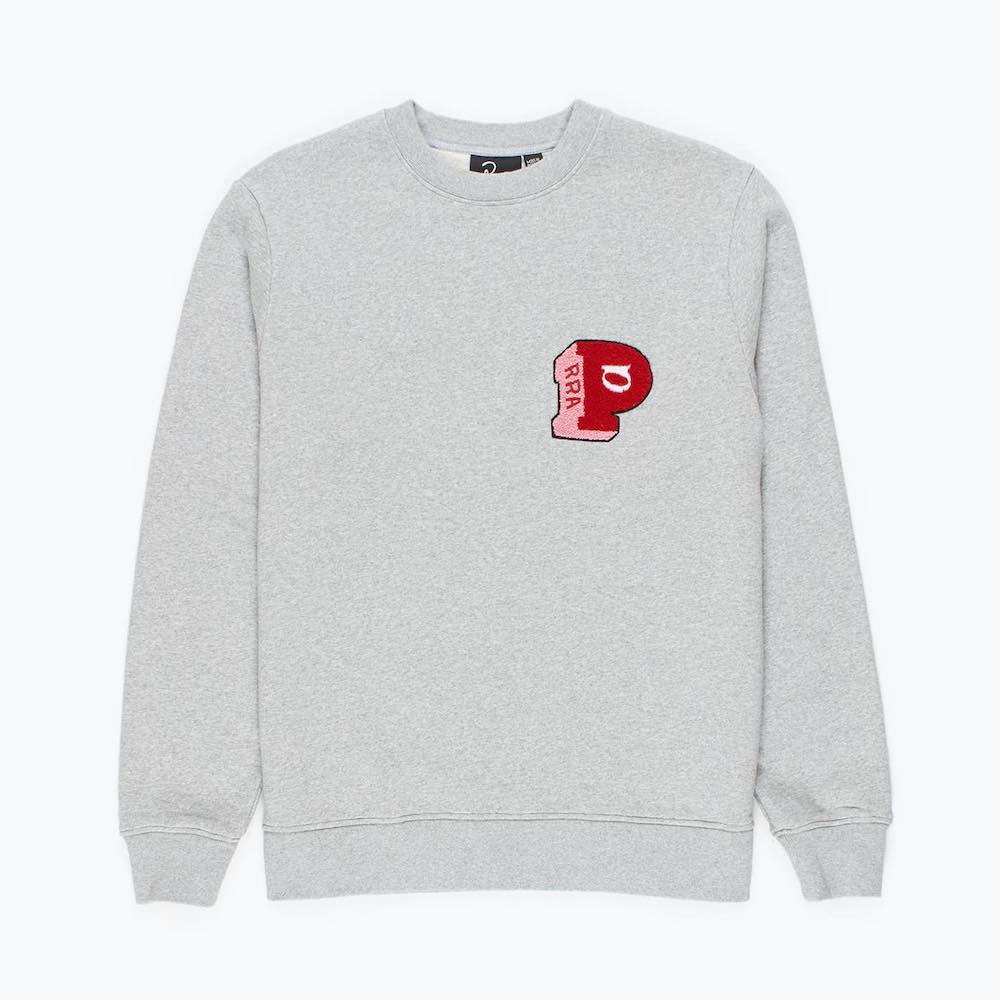 画像1: BY PARRA BLOCK P CREW NECK SWEATSHIRT (1)
