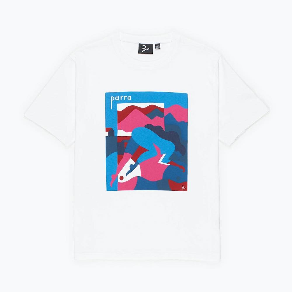 画像1: BY PARRA GIRL RACER T-SHIRT (1)